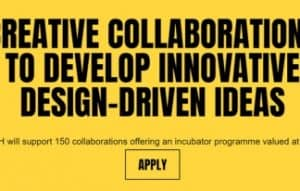 Apply and benefit from an incubator programme