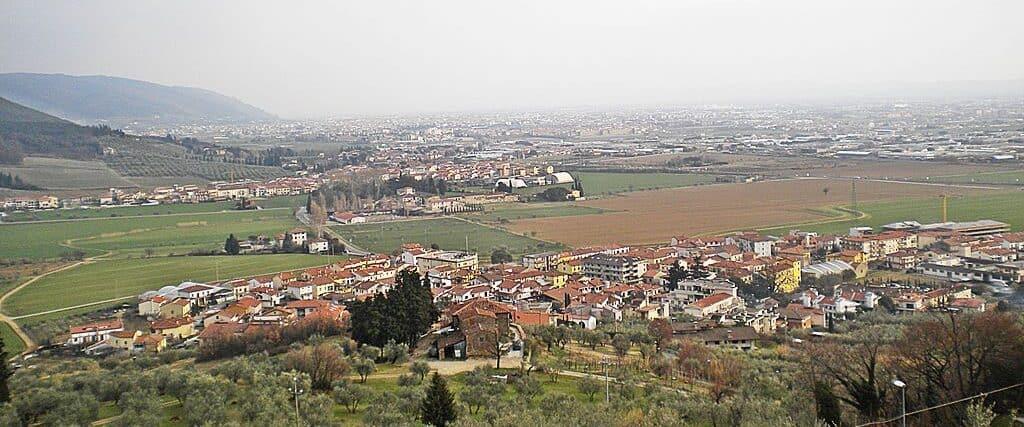 View of Montemurlo